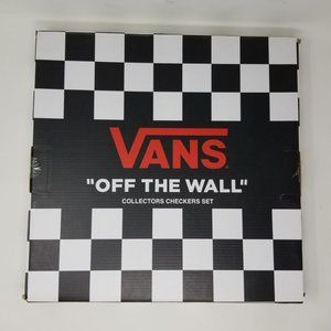 Vans Checkerboard Checkers Wooden Game Board NEW